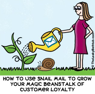 Discover the different ways in which you can use snail mail for your customer retention campaigns.