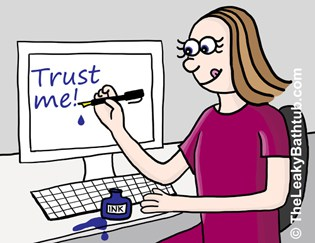 Adding your signature onto your website is a simple way to build trust - and quickly.